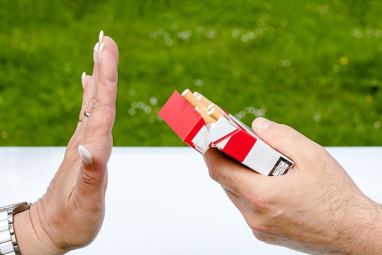Quit smoking as skincare tip
